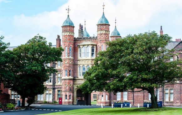Rossall School and gardens