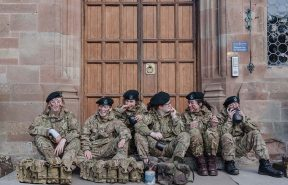 Army Cadets at Adcote School