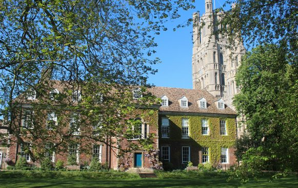 King's Ely school house and gardens