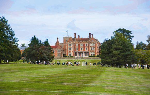 Benenden School in the beautiful grounds