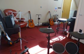 Our impressive music room at Ashby