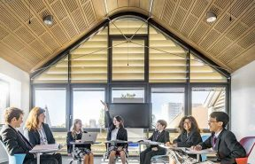 Our new open bright classrooms at Brighton College