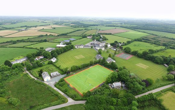 Shebbear College Aerial View