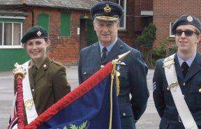 Read School Standard was Annie Henry and Matthew Roberts as Cadet Regimental Sergeant Major (RSM)