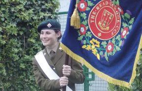 Army girl Cadet